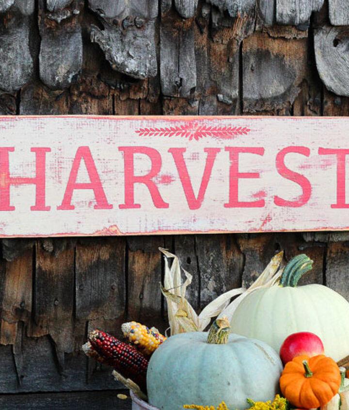 fall decor martha stewart vintage paint girly rustic chic, crafts, rustic furniture, seasonal holiday decor