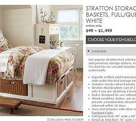 Etonnant Storage Bed Pottery Barn Knockoff, Bedroom Ideas, Diy, Painted Furniture,  Storage Ideas