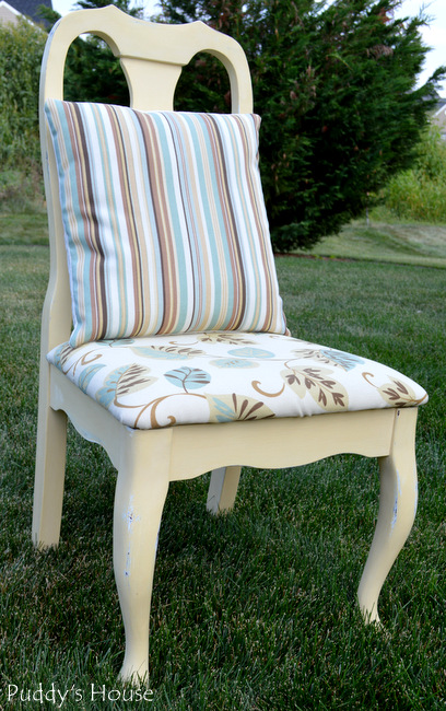 chalk paint chair makeover, chalk paint, painted furniture
