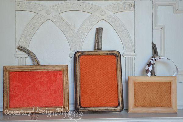 crafts fall decor pumpkins frames, crafts, repurposing upcycling, seasonal holiday decor