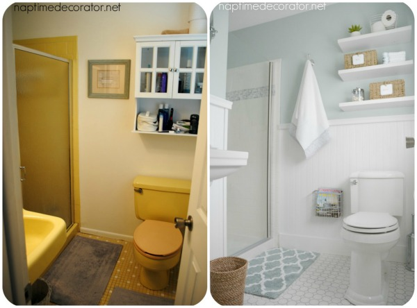 Master Bathroom Makeover Before After Clean Fresh Ideas Small