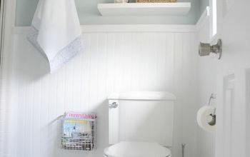 master bathroom makeover before after clean fresh, bathroom ideas, small bathroom ideas