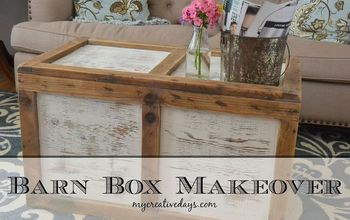 barn box coffee table makeover repurpose upcycle, diy, painted furniture, repurposing upcycling, woodworking projects