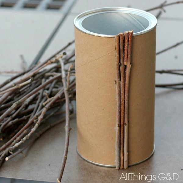 Diy Painted Twig Vase Hometalk