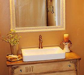 Bathroom Vanity Old Dresser Repurpose, Bathroom Ideas, Chalk Paint, Diy,  Painted Furniture