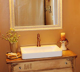 Genial Bathroom Vanity Old Dresser Repurpose, Bathroom Ideas, Chalk Paint, Diy,  Painted Furniture