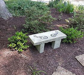 Concrete Garden Bench Build Budget, Concrete Masonry, Outdoor Furniture