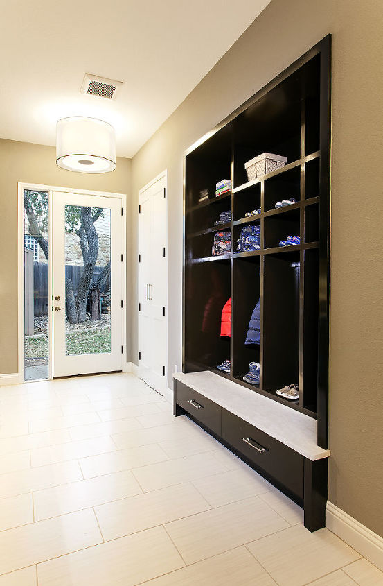mud room reinvented, home improvement, laundry rooms, storage ideas