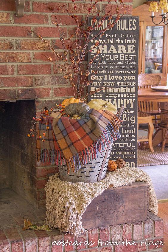 fall decor textures colors inspiration home, home decor, seasonal holiday decor
