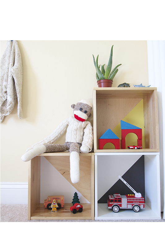 Childrens Kids Bedroom Furniture Set Toy Chest Boxes Ikea: Easy Modern Toy Storage Ikea Hack