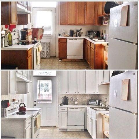 kitchen update budget before after diy kitchen backsplash kitchen cabinets kitchen design - Budget Kitchen Cabinets