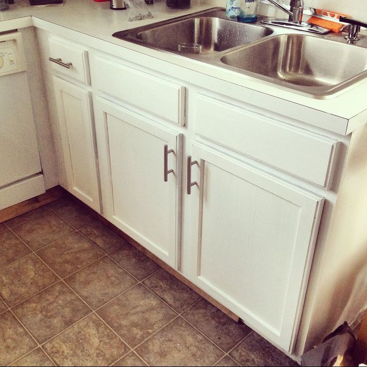 Affordable Kitchen Cabinet Updates: Before & After: $387 Budget Kitchen Update