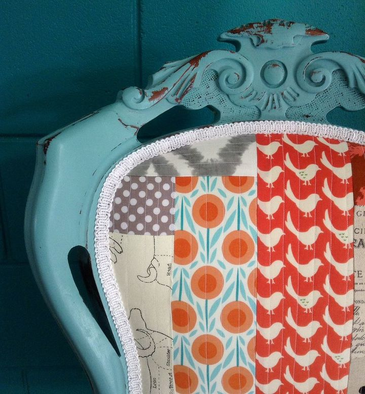 diy chair upholstery quilted patchwork, repurposing upcycling, reupholster