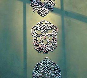 wall art faux metal modern masters home decor how to wall decor & Faux Metal Wall Art Using Modern Masters | Hometalk