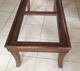 End Coffee Table Makeover Upholstered Makeover, Painted Furniture,  Repurposing Upcycling, Reupholster, This