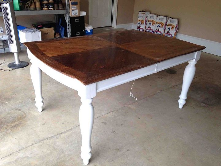 Oak Kitchen Tables Painting staining a kitchen table hometalk painting staining kitchen table painted furniture workwithnaturefo
