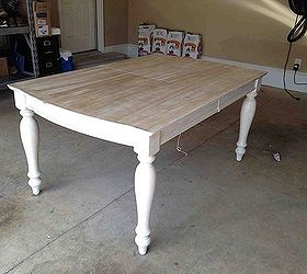 painting staining kitchen table painted furniture