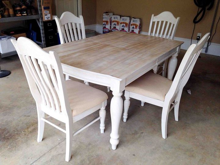 Painting & Staining a Kitchen Table   Hometalk