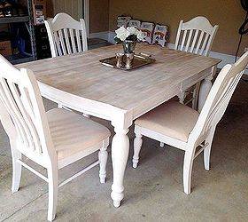 Amazing Painting Staining Kitchen Table, Painted Furniture