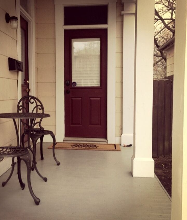 front door makeover stencil blue budget, diy, doors