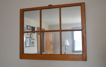 DIY Window Mirror For Less Than $20