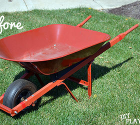Gardening Planter Wheelbarrow Upcycle Repurpose, Gardening, Repurposing  Upcycling