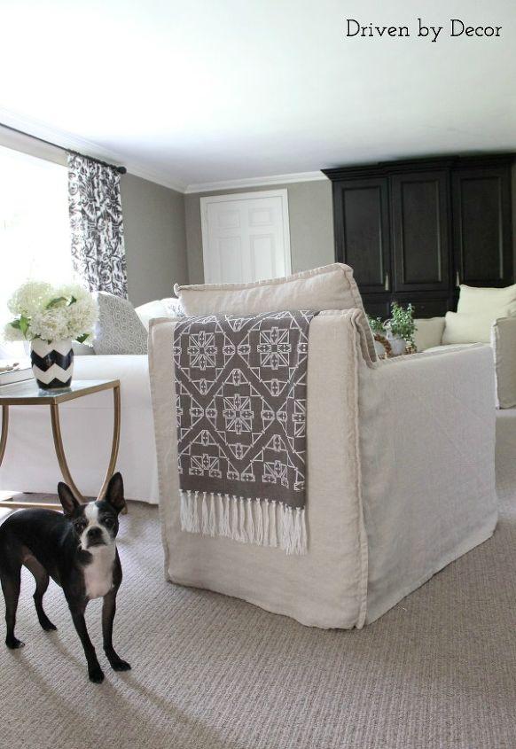 chair backs fabric throw decor, home decor, living room ideas, reupholster