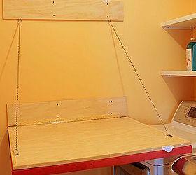 Fold Down Laundry Room Folding Table Hometalk