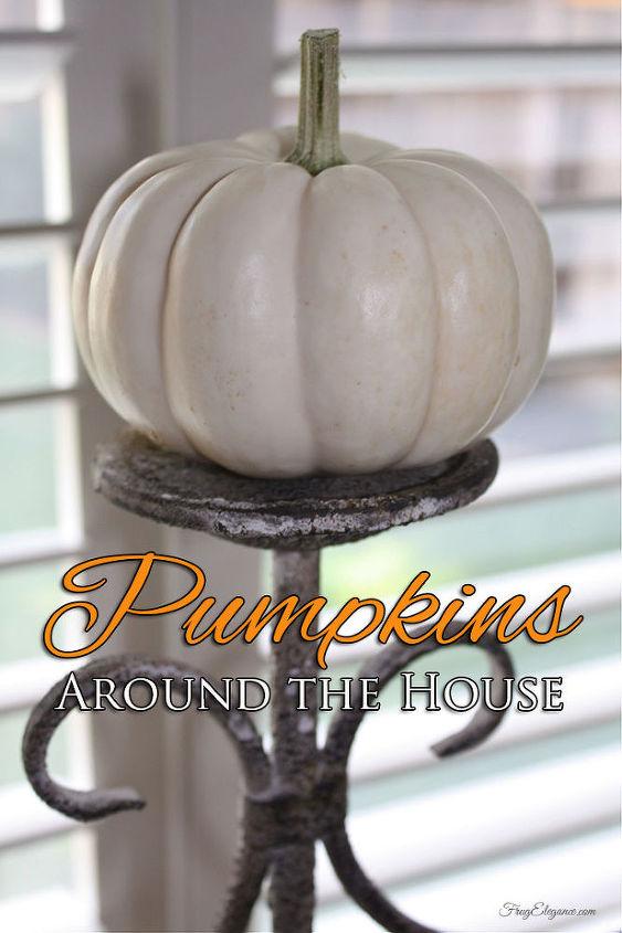 fall home decor pumpkins, home decor, seasonal holiday decor