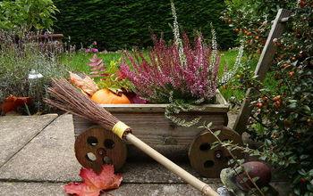 Fall Porch/Patio Decor Idea