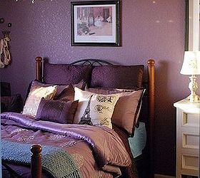 Ideas For Purple Bedroom Part - 22: Bedroom Ideas Purple Makeover Home Decor Painting Purple Bedroom Makeover  Hometalk