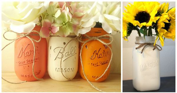 fall decor mason jar inspiration, crafts, home decor, lighting, mason jars, repurposing upcycling