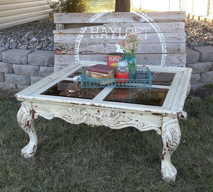 Wonderful Shabby Chic Coffee Table Paint Redo | Hometalk IP34