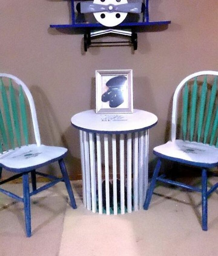 painted furniture pilot commemorate planes, painted furniture
