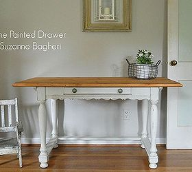 Delicieux Painted Furniture Desk French Country Farmhouse Wood, Painted Furniture