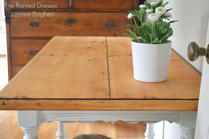 painted french country farmhouse desk hometalk. Black Bedroom Furniture Sets. Home Design Ideas