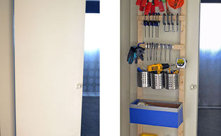 diy storage hooks over door organizing, closet, diy, organizing, storage ideas, woodworking projects