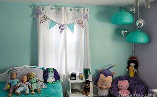 bedroom ideas kids update, bedroom ideas, home decor, lighting, window treatments