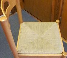 chair redo ideas old wood refinsh, repurposing upcycling