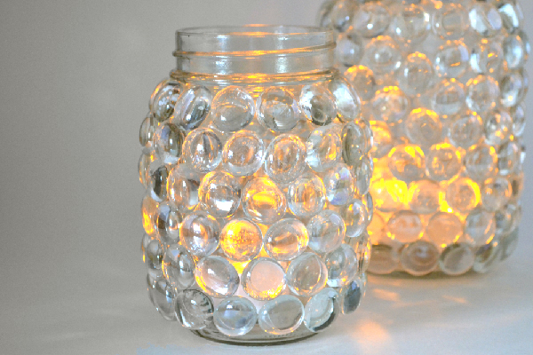 mason jar luminaries, crafts, home decor, lighting, mason jars, repurposing upcycling