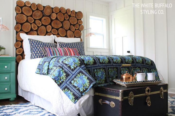 Dark Wood Bedroom Furniture Glam