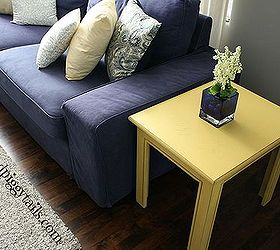 Ordinaire Painted Furniture End Table Redo Brown Marker Fake Distress, Painted  Furniture