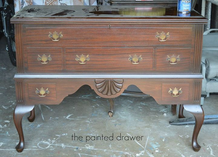 Painted French Cedar Chest | Hometalk