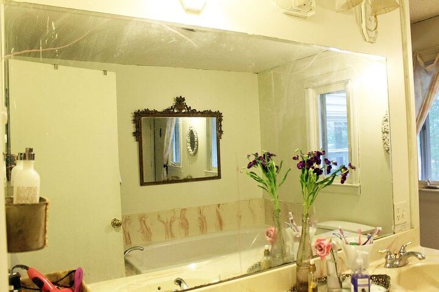Builder\'s Grade Mirror Turned Trumeau Mirror | Hometalk