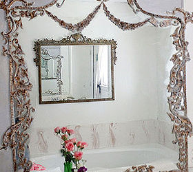 Mirror Builders Grade Turned Trumeau, Bathroom Ideas, Diy, Repurposing  Upcycling, Wall Decor