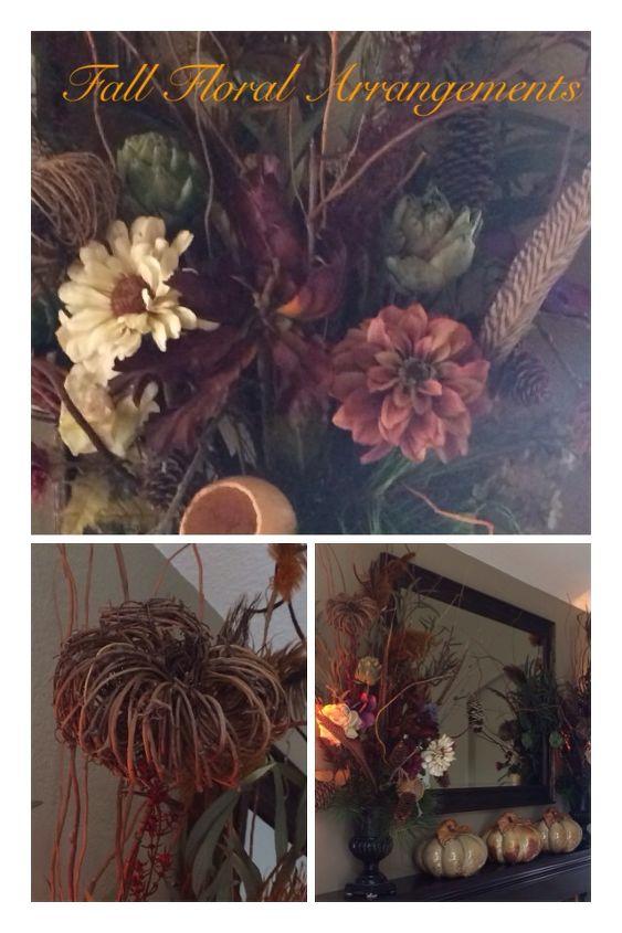 Fall Floral Mantel Arrangements 12 99 Hometalk