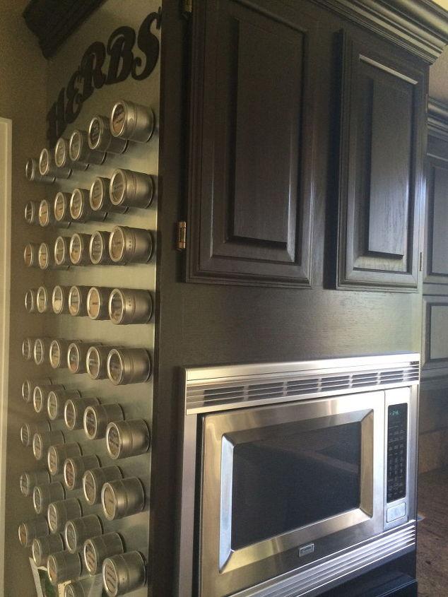 custom herb magnet board 38 00, diy, kitchen design, organizing, stairs, storage ideas