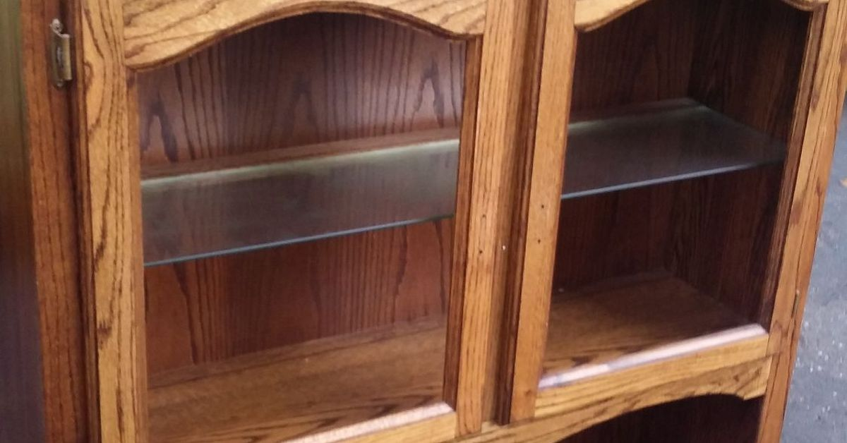 Old Oak Hutch Given New Life With Chalk Paint Hometalk