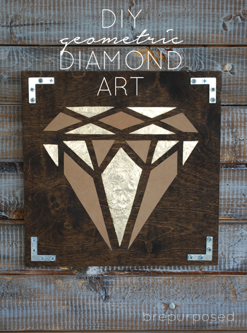 diy geometric diamond art hometalk