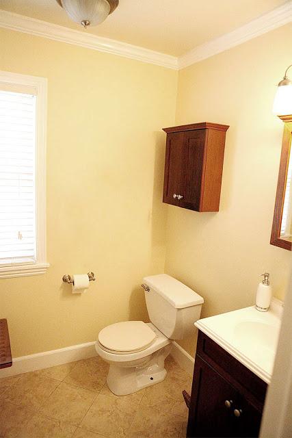 Powder Room Becomes Full Bath Redo Hometalk - Small bath redo for small bathroom ideas